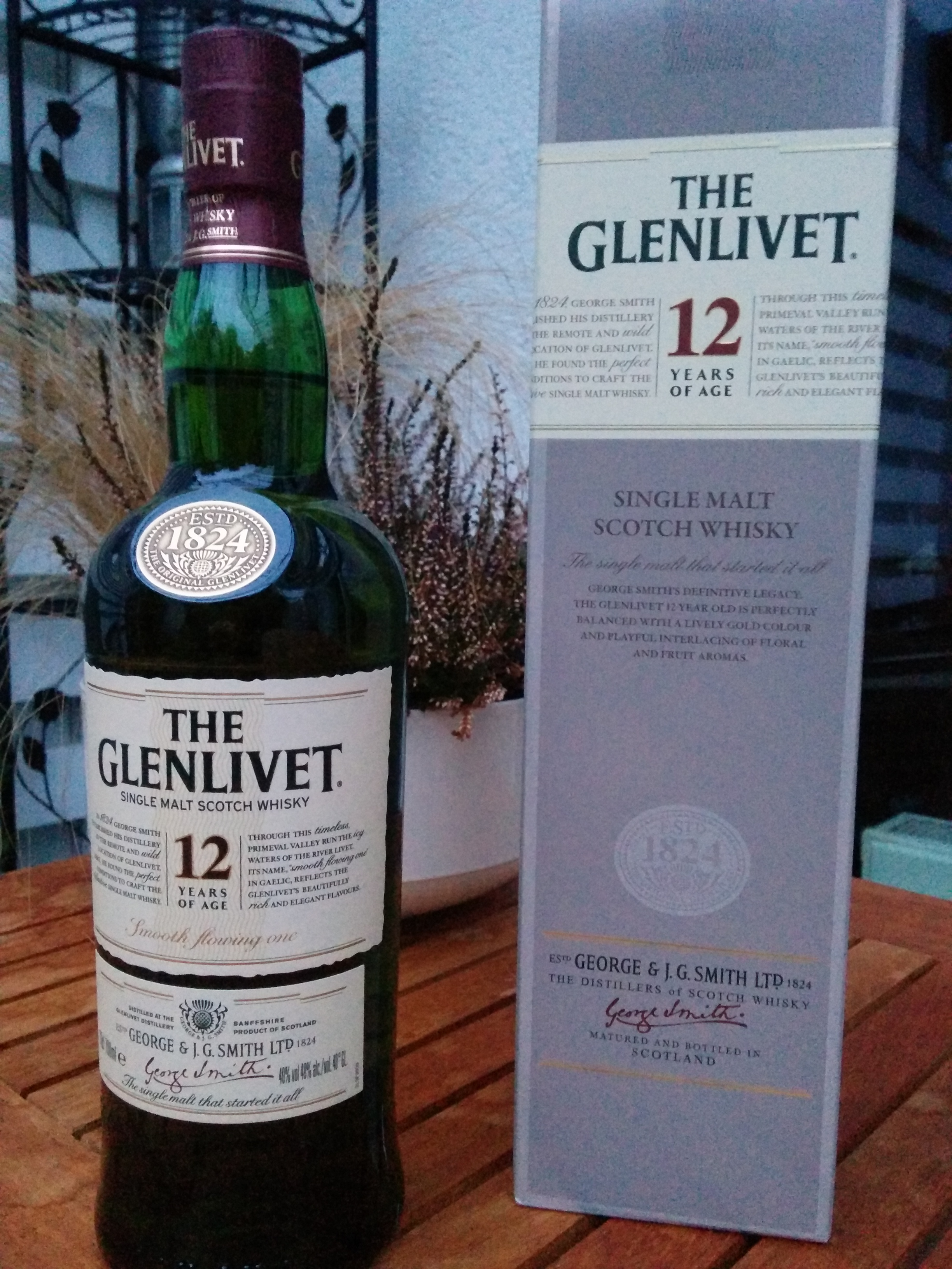 Glenlivet 12yo Single Malt Scotch Whisky