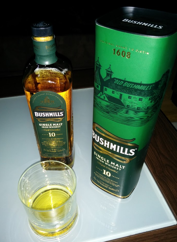 Bushmills 10 Years Single Malt Irish Whiskey