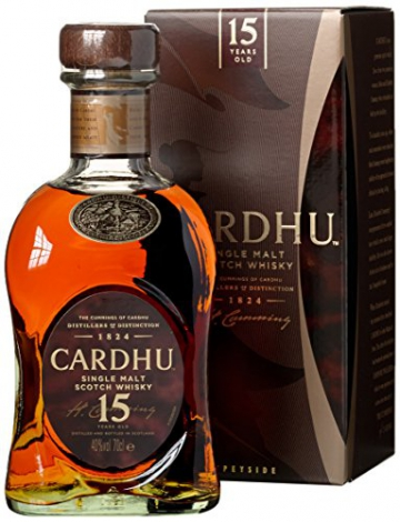 Cardhu 15 Jahre Single Malt Scotch Whisky (1 x 0.7 l) - 1