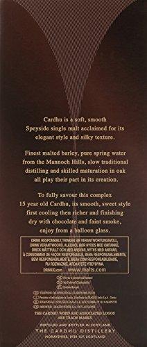 Cardhu 15 Jahre Single Malt Scotch Whisky (1 x 0.7 l) - 6
