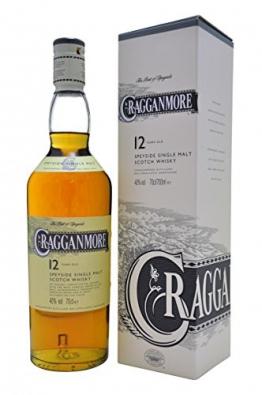Cragganmore 12 Jahre Single Malt Scotch Whisky (1 x 0.7 l) - 1
