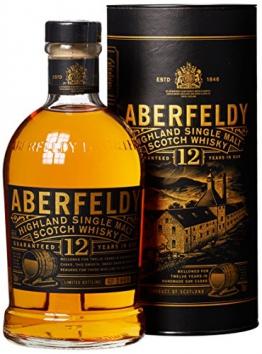 Aberfeldy Highland Single Malt Whisky 12 Jahre (1 x 0.7 l) -