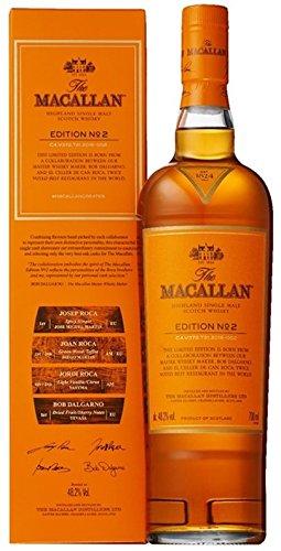 Macallan Edition No. 2 Limited Edition + GB 48,2% Vol. 0,7 l -