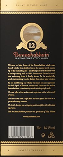 Bunnahabhain 12 Jahre Islay Single Malt Scotch Whisky (1 x 0.7 l) - 5
