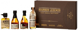 Bourbon Legends Mini-Pack Whiskey (4 x 0.05 l) - 1