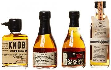 Bourbon Legends Mini-Pack Whiskey (4 x 0.05 l) - 2