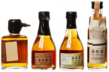 Bourbon Legends Mini-Pack Whiskey (4 x 0.05 l) - 3