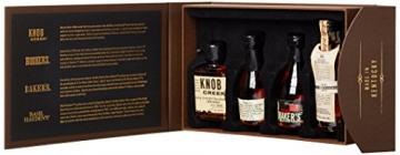 Bourbon Legends Mini-Pack Whiskey (4 x 0.05 l) - 4