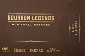 Bourbon Legends Mini-Pack Whiskey (4 x 0.05 l) - 5