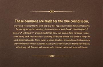 Bourbon Legends Mini-Pack Whiskey (4 x 0.05 l) - 6