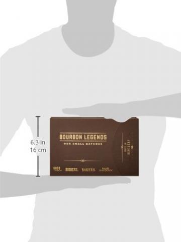 Bourbon Legends Mini-Pack Whiskey (4 x 0.05 l) - 7