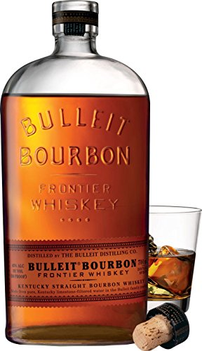 Bulleit Bourbon Frontier Whiskey (1 x 0.7 l) -