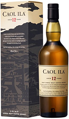 Caol Ila 12 Jahre Islay Single Malt Scotch Whisky (1 x 0,7 L) -