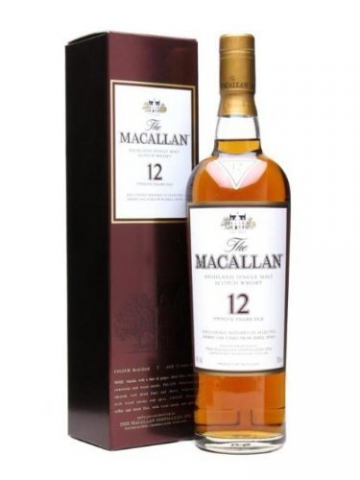 Macallan 12 Jahre Alt / Sherry Oak / 70cl -