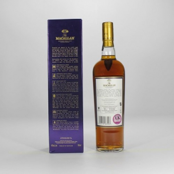 Macallan 18 Jahre Sherry Cask Single Malt Whisky 0,7 Liter -
