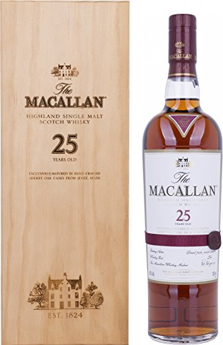 Macallan 25 Years Old Triple Cask in Holzkiste (1 x 0.7 l) -