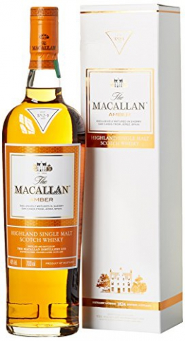 Macallan Amber Highland Single Malt Whisky (1 x 0.7 l) -