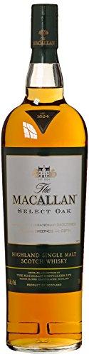 Macallan Select Oak 1824 mit Geschenkverpackung  Whisky (1 x 1 l) -