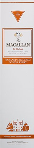 Macallan Sienna Highland Single Malt Whisky (1 x 0.7 l) -