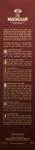 The Macallan Highland Single Malt Scotch 12 Years Old - matured in Sherry Oak Casks Whisky (1 x 0.7 l) -